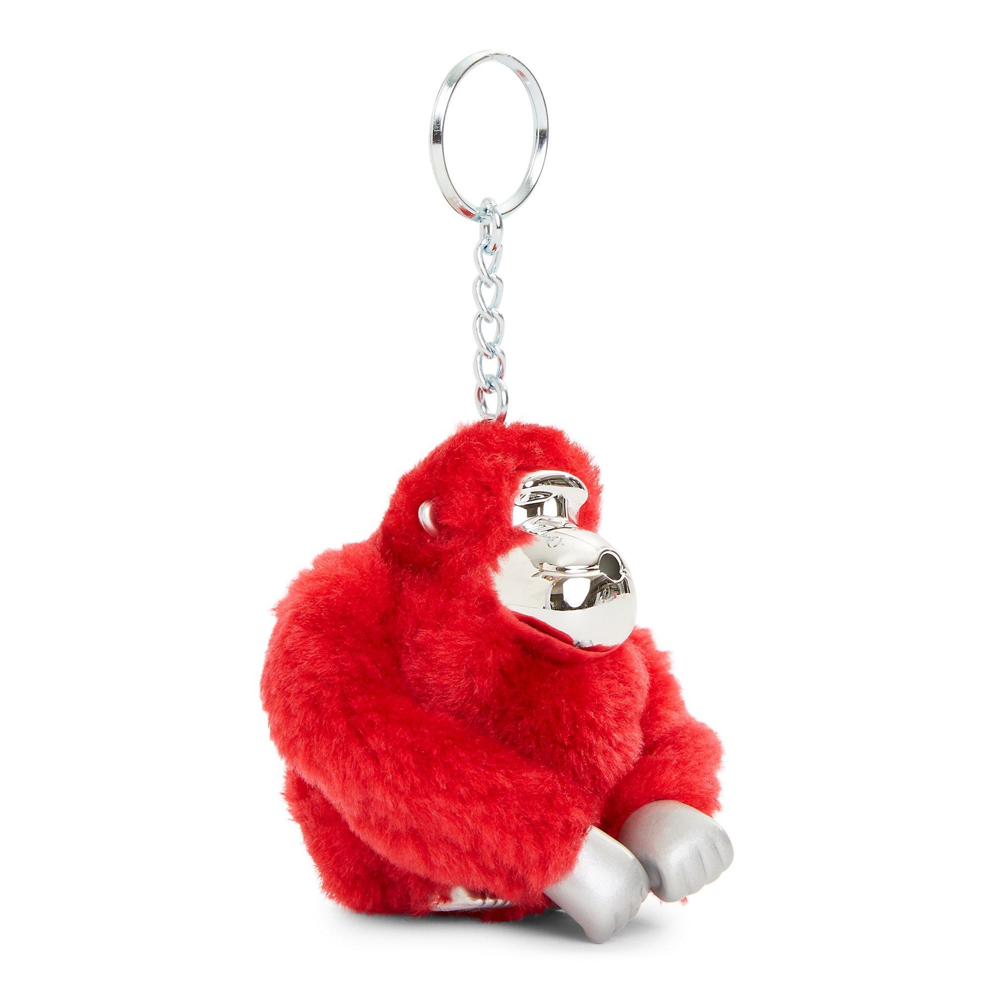 Kipling Women's Kyle Glactic Monkey Keychain One Size Cherry