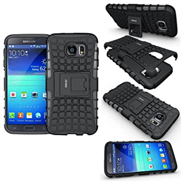 Funda Samsung Galaxy S6, Fetrim Soporte Proteccion Cáscara Cases ...