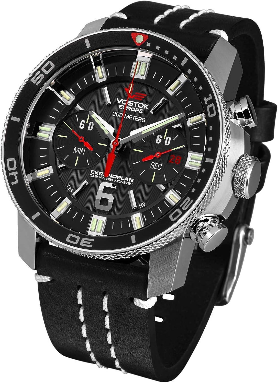 Vostok Europe Reloj para Hombre 6S21-546A508