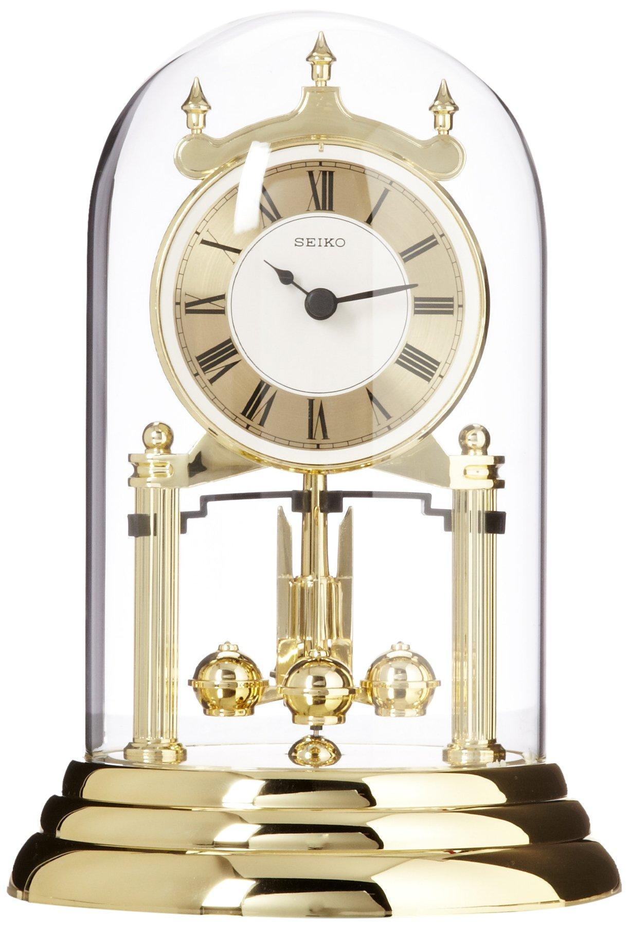 Seiko QHN006GLH Mantel Clock by SEIKO