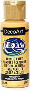 product image for DecoArt Americana Acrylic Paint, 2-Ounce, Antique Gold