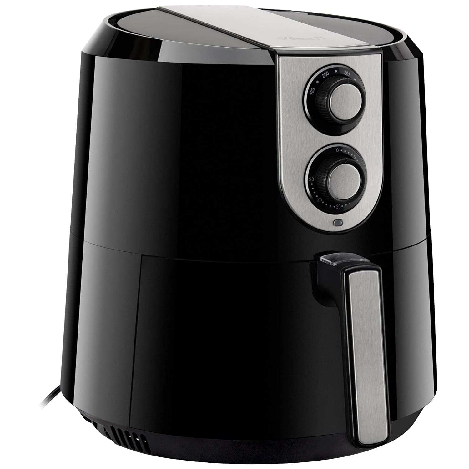 Rosewill RHAF-16003V3 5.8-QT XL Air Fryer with Temperature and Timer Settings, 5.5-L Extra Large Capacity 1800W Oil-Less Low-Fat Air Frying