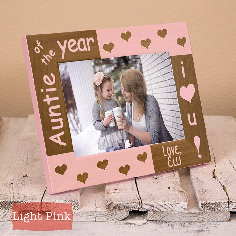 Amazon.com: Aunt Picture Frame - Mothers Day Gift for Aunt - Gifts ...
