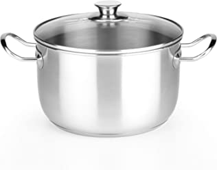 Monix Chef - 20 cm stew pot with glass lid