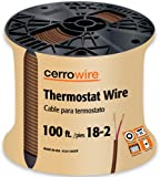 southwire 64169622 5 conductor 18 5 thermostat wire 18 gauge solid rh amazon com thermostat c wire gauge hvac thermostat wire gauge