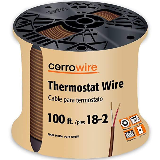 CERRO 210-1005BR Feet 18/5 Thermostat Brown Wire, 50-Foot, 18-Gauge, 5 Ground - - Amazon.com