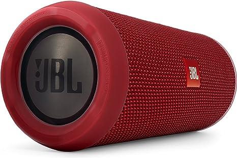 JBL Flip 3 Red Bluetooth Speaker with Battery: Amazon.co.uk
