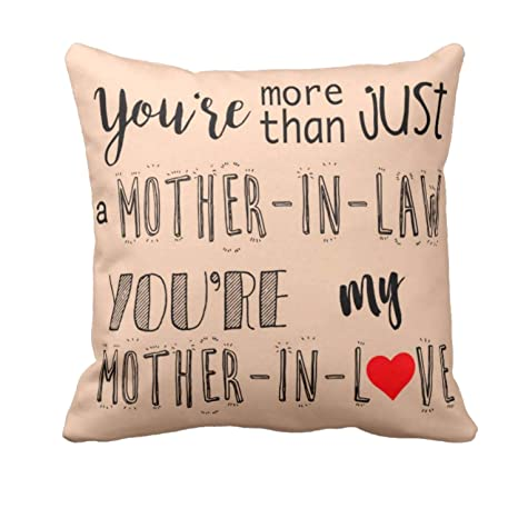 Buy Yaya Cafe Birthday Gifts For Mom My Mother In Love Cushion