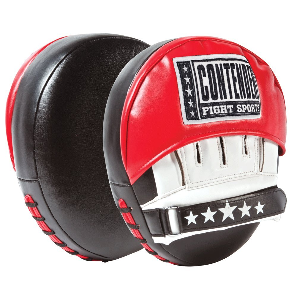 Contender Fight Sports Air Boxing MMA Muay Thai Karate Training Target Focus Punch Pad Mitts TCPM5