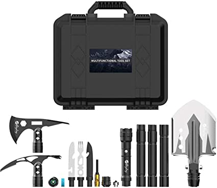 Ashleylife Expandable Outdoor Tool for Outdoor Hiking Use and Outdoor Self Protection Outdoor Activities Tools