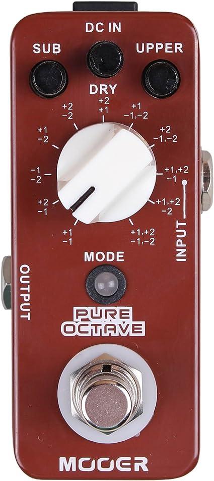 Mooer PURE OCTAVE - Pedal de efectos: Amazon.es: Instrumentos ...