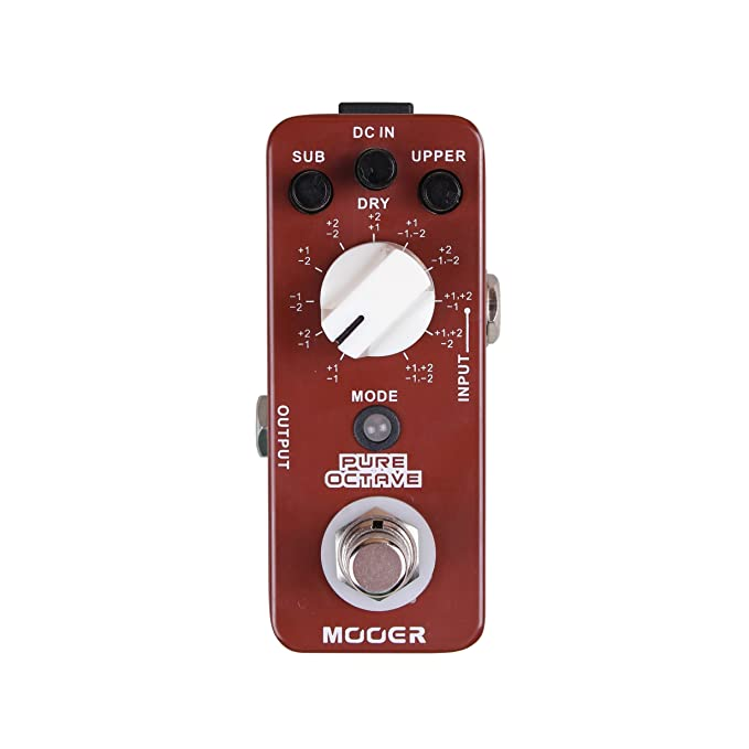 image of MOOER PURE OCTAVE - one of the best octave pedals