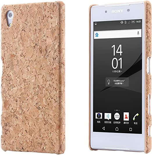 Ecence Kork Handyhülle Schutzhülle Case Cover Kompatibel Für Sony Xperia Z3 21030408
