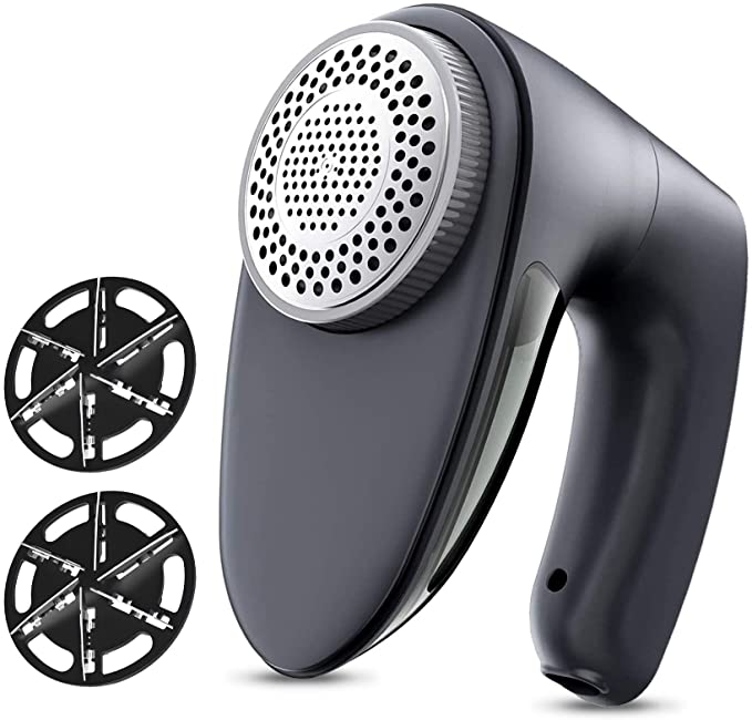 4. POPCHOSE Rechargeable Fabric Shaver and Lint Remover