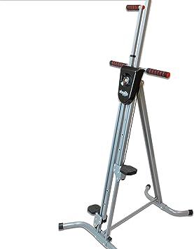 Viva la Vida Fitness vertical Climber ejercicio máquina | Max calorías quemadas en tiempo mínimo | simula escalada escalera o escaleras | plegable y ...