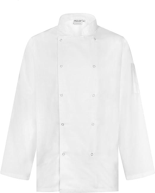 ProLuxe - Chaqueta Chef - Hombre: Amazon.es: Ropa y accesorios