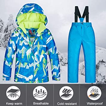 iBàste Impermeable Cálido Ski Snow Snowet Ski Suit Winter ...