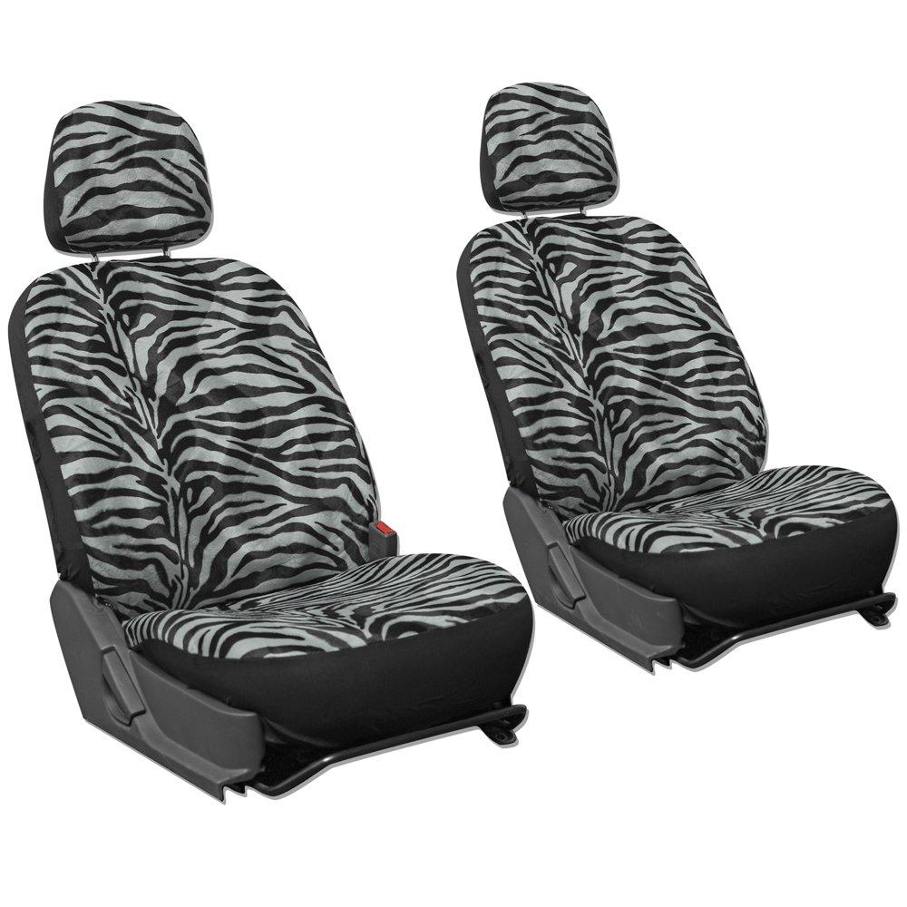 OxGord SCVE-Z1B-GY Gray /& Black Zebra 6pc set