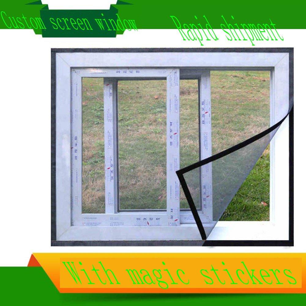X&M Unsichtbare fenster faser glasscheibe,Customized-velcro ...