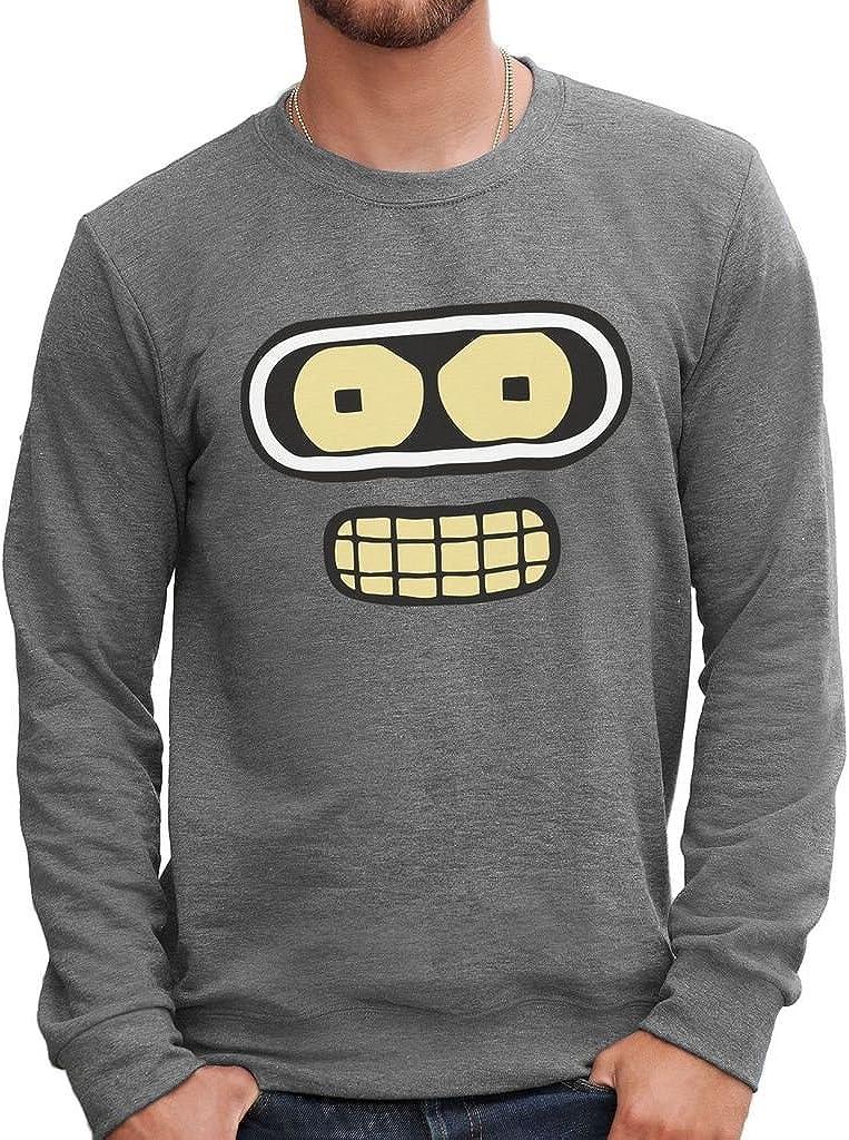 Dessin Anime by Dress Your Style MUSH Sweatshirt Bender Futurama