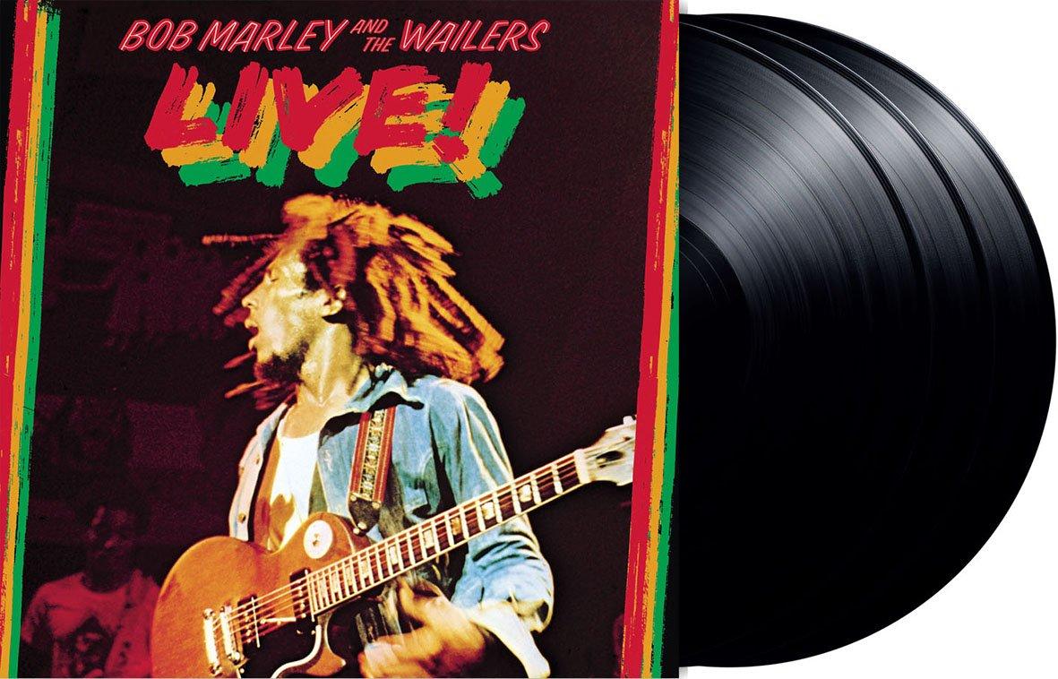Risultati immagini per bob marley live lyceum 1975 vinyl