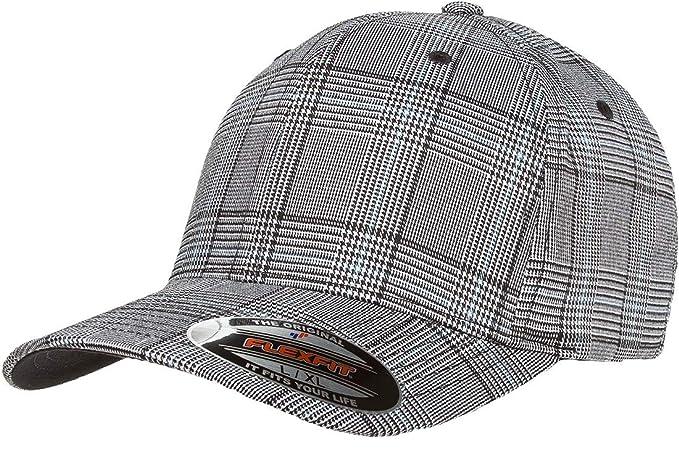 319ae1e3849 Flexfit Glen Check Plaid Hat