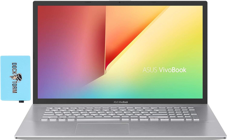 ASUS Vivobook X712DA-202.MV Home and Business Laptop (AMD Ryzen 7 3700U 4-Core, 12GB RAM, 512GB SSD, AMD RX Vega 10, 17.3