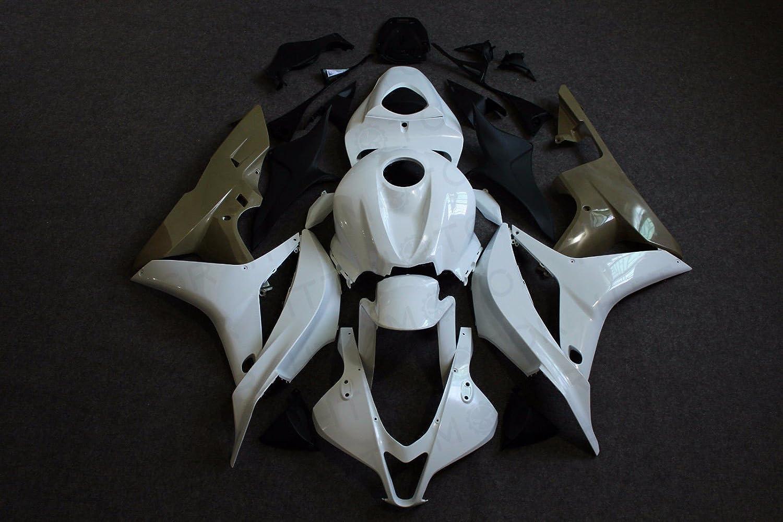 2007-2008 Fairing Plastic Bodywork Kit Unpainted For Honda CBR600RR F5