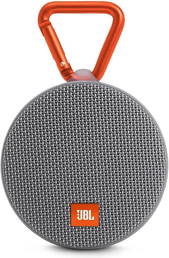 Jbl Clip 2 Wasserdichter Tragbarer Wiederaufladbarer Lautsprecher Mit Ipx7 Wasserschutz Aux Konnektivität Und Integrierter Freisprechfunktion Schwarz Audio Hifi