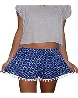 DaySeventh Women's Hot Pants Summer Casual High Waist Beach Shorts