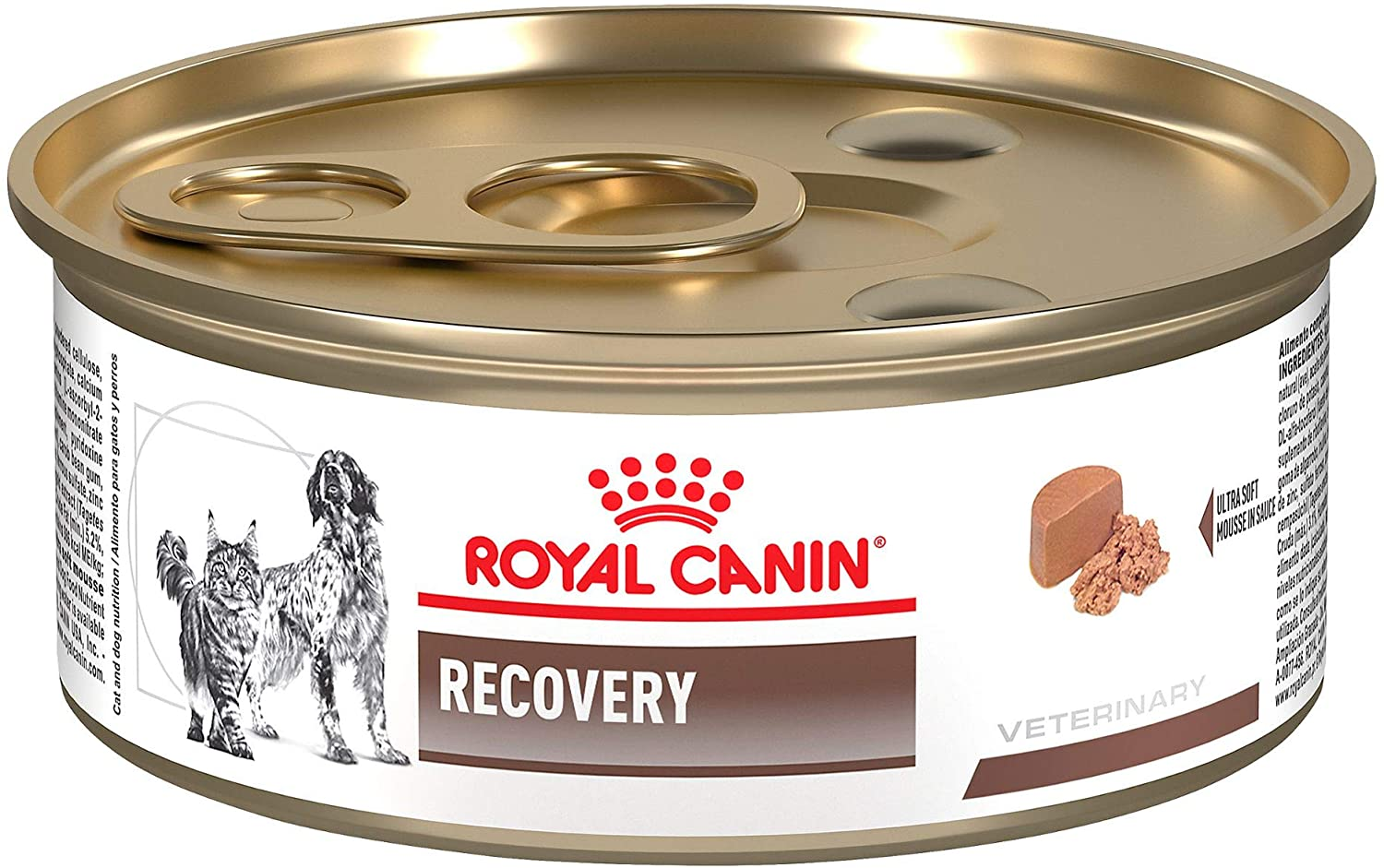 Royal Canin Veterinary Diet Feline And Canine Recovery Rs In Gel Canned Cat and Dog Food, 5.8 oz