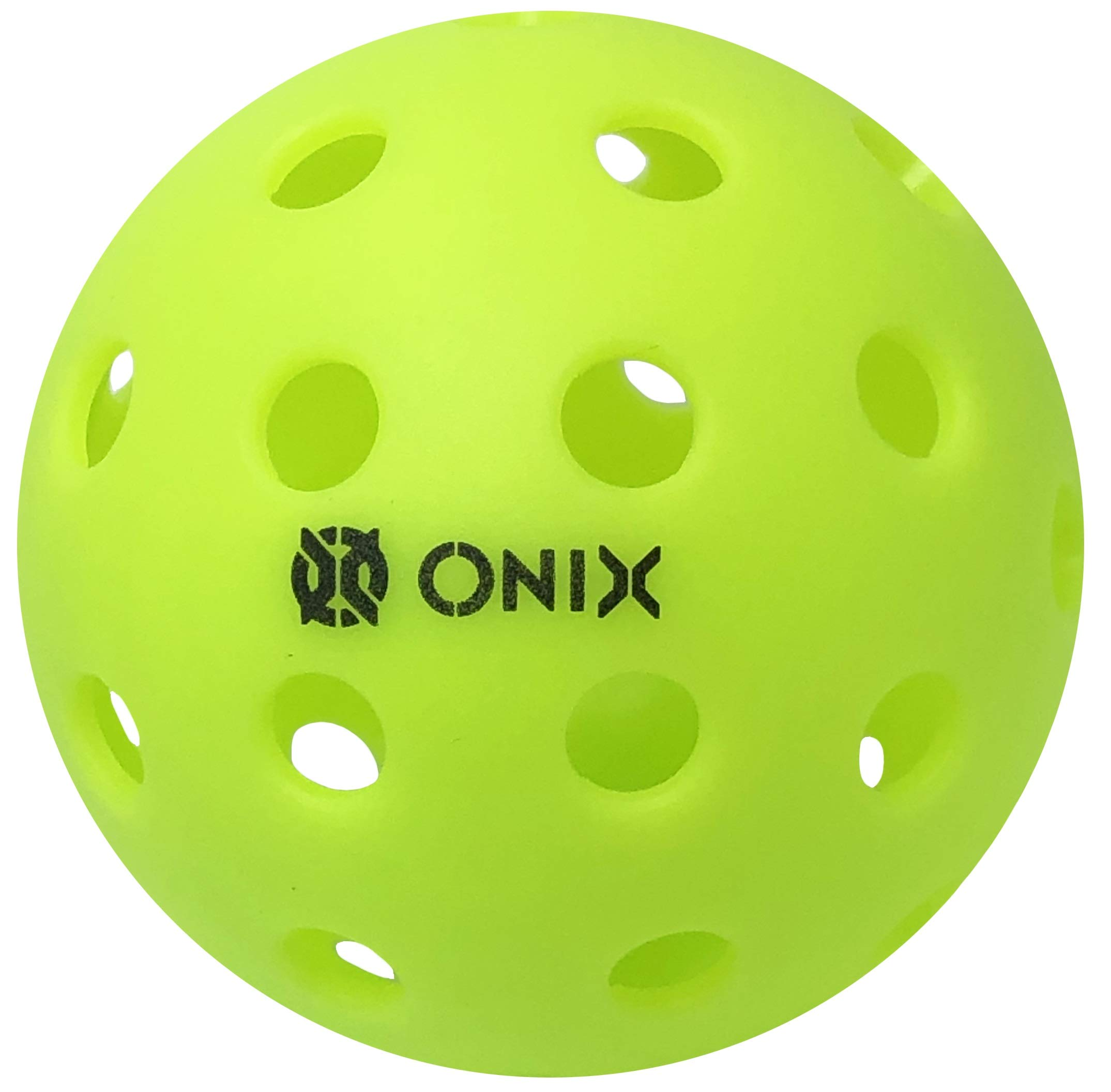 Onix Pure 2 Outdoor Pickleball Balls Specifically Designed and Optimized for Pickleball (3-Pack, Green)