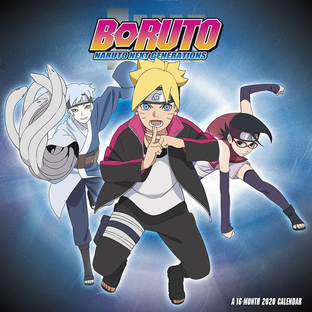 Naruto 2020 Calendar Boruto: Naruto Next Generations 2020 Wall Calendar: Trends