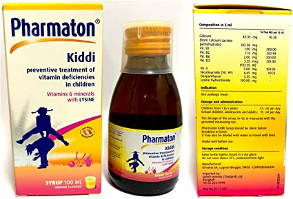 how does multivitamin syrup work