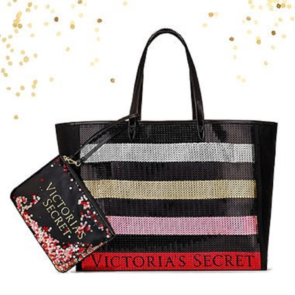Black Friday VS 2017 Sequin Bag with FREE pouch