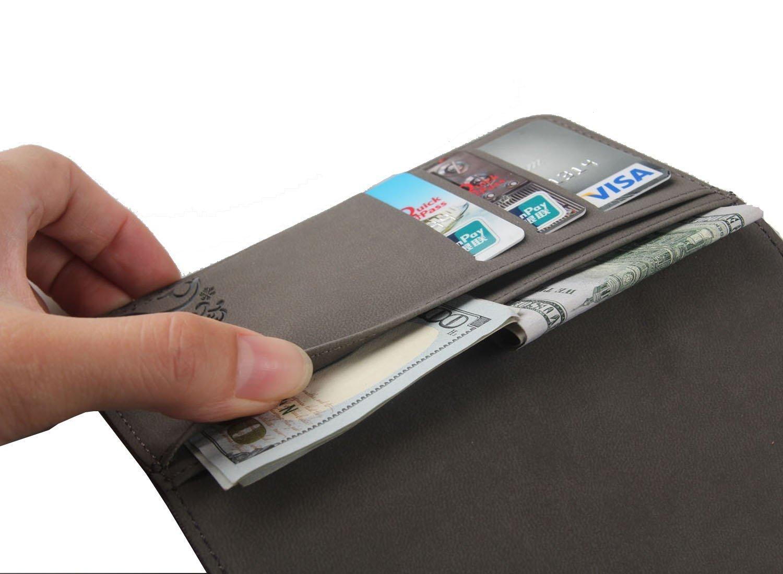 Gukas Design Genuino Cuero Case para Wolder miSmart XENIOR 4.5 ...