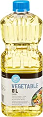 Amazon Brand - Happy Belly Vegetable Oil, 48 Fl Oz
