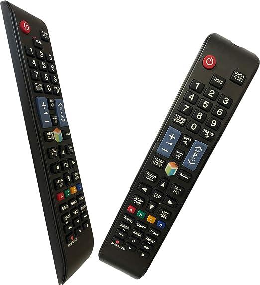 iLovely Nuevo Mando a Distancia Pare Samsung AA59-00582A AA59-00581A Ajuste La mayoría de los televisores LED con Pantalla LCD Samsung 3D LCD Smart TV ...