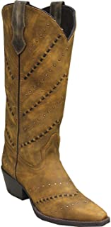 product image for Abilene Women's Rawhide by Hand Laced Western Boot Snip Toe