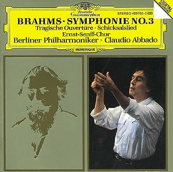 Symphony 3 / Tragic Overture / Schicksalslied