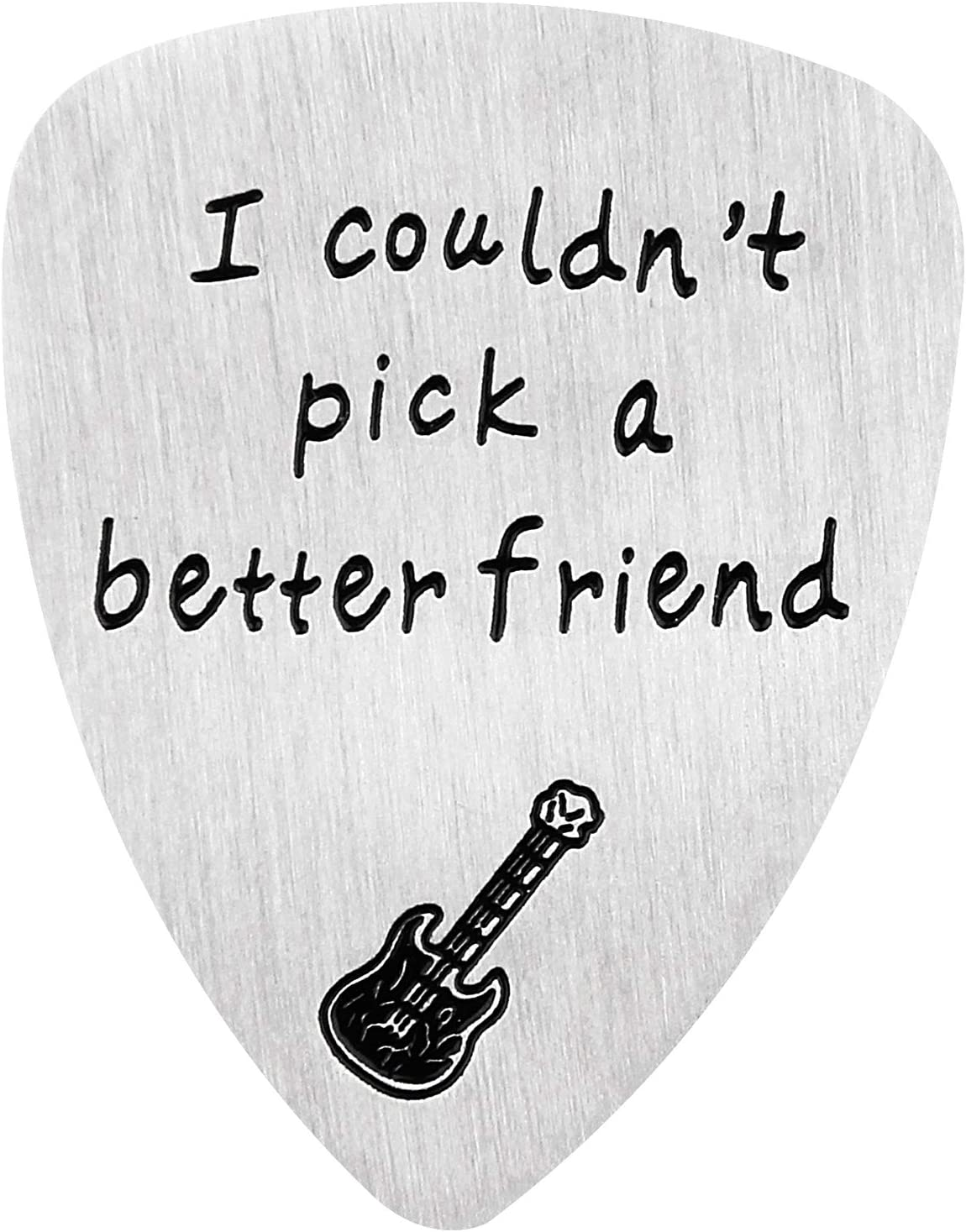 Best Friend Guitar Picks Birthday Anniversary Friendship Gifts I Could Not Pick A Better Friend