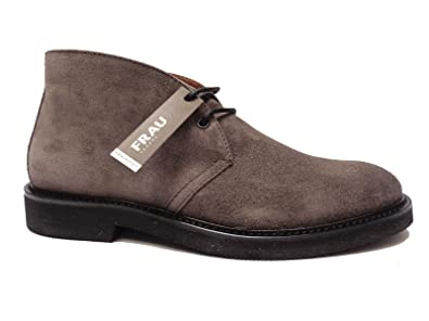 chaussures FRAU 74F2 gris ébène homme chaussures d'escalade lacets de type  cheville 40
