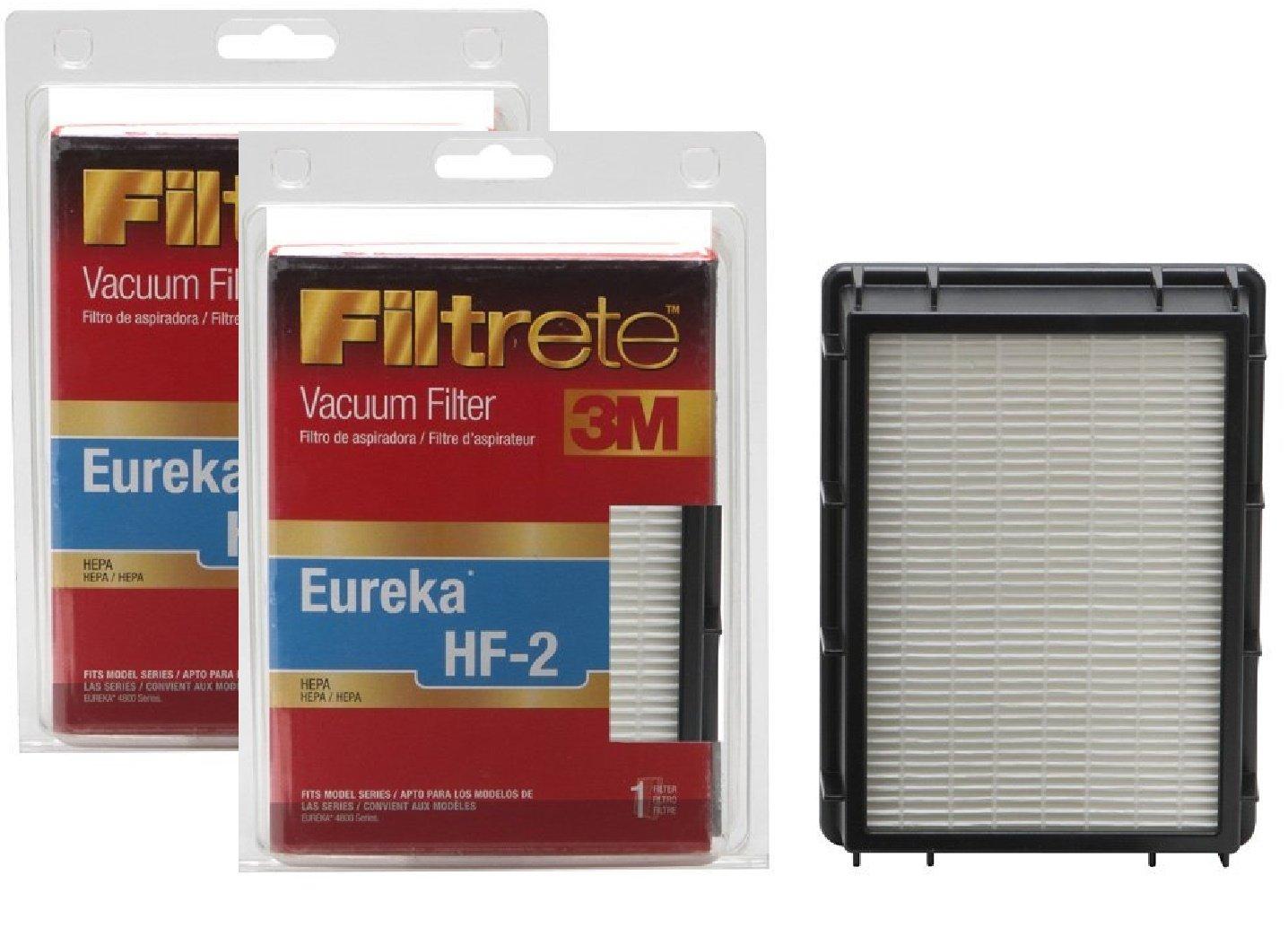 Amazon.com - 3M Filtrete Eureka HF-2 HEPA Vacuum Filter - 1 filter -  Household Vacuum Filters Upright
