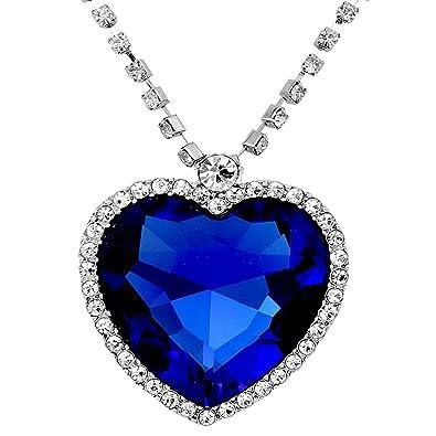 buy shining diva fashion the famous titanic heart of ocean pendant