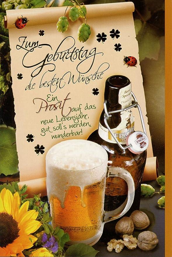 50 Geburtstagskarten Manner Spruche Wein Cognac Bier Grusskarten