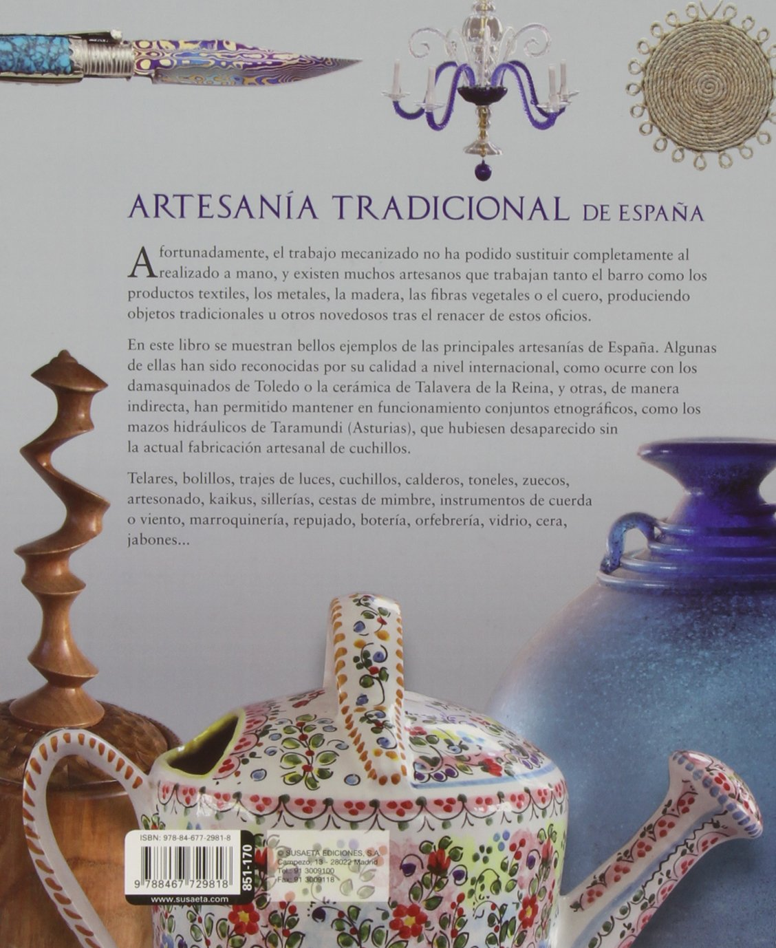 Atlas ilustrado de artesanía tradicional de España: S-851 ...