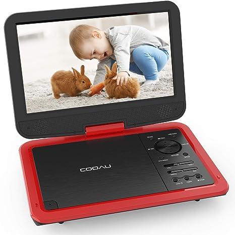 Amazon.com: Reproductor de DVD portátil COOAU de 12,5 ...