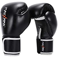 MaxxMMA Pro Style Boxing Gloves for Men & Women, Training Heavy Bag Workout Mitts Muay Thai Sparring Kickboxing Punching…
