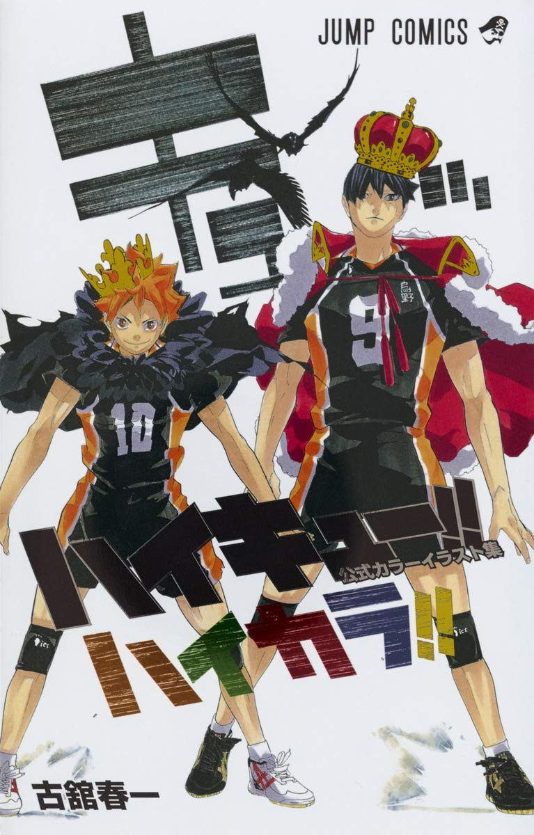 Haikyu Official Color Art Book anime volleyball Haruichi Furudate Haikyuu!