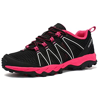 af0c0fa3cfbc17 Amazon.com   Odema Ultrathin2.0 Mesh Women Water Shoes Quick Dry Aqua Shoes  Lace up Outdoor Sneakers Hiking Shoes   Water Shoes